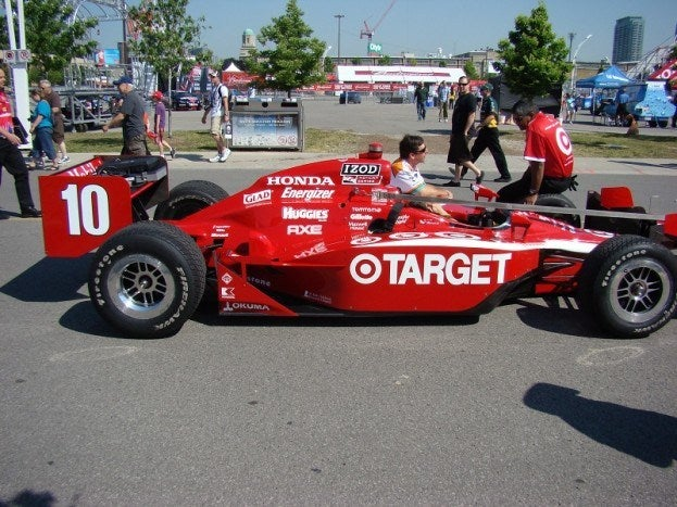 2011 Honda Indy of Toronto Friday franchitti target car at toronto Photo by Chris Nagy