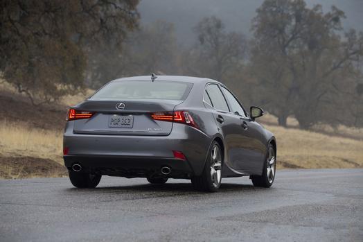 2014 Lexus IS 350 rear