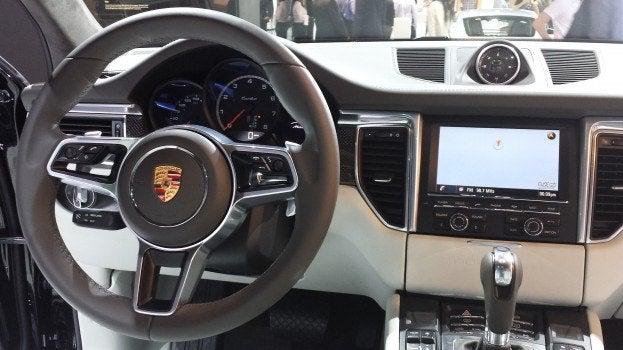 Porsche Mecan interior
