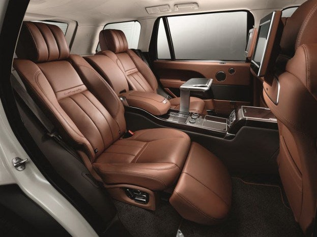 Autobiography Black Rear Seats