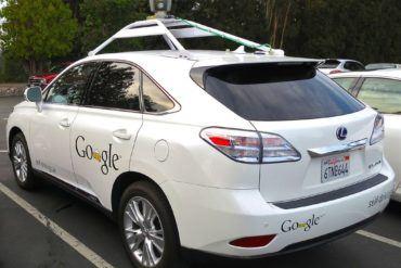 Googles Lexus RX 450h Self Driving Car 1