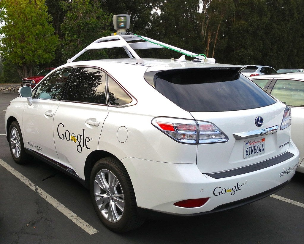 Googles Lexus RX 450h Self Driving Car 1