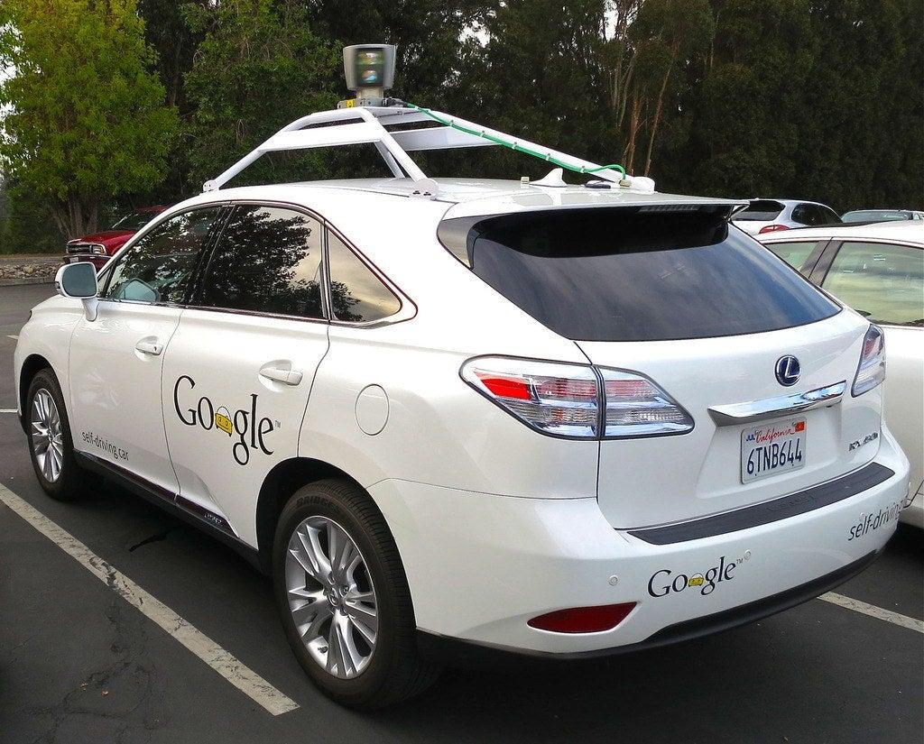 Google Lexus Self Driving Car