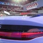 Honda FCEV Concept Rear Close