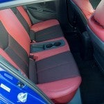 Hyundai Veloster Turbo R Spec Rear Seats