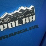 Jeep Wrangler Polar Edition badge