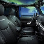Jeep Wrangler Polar Edition cabin