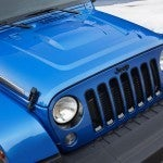 Jeep Wrangler Polar Edition hood