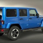 Jeep Wrangler Polar Edition side rear