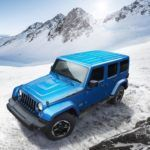 Jeep Wrangler Polar Edition top