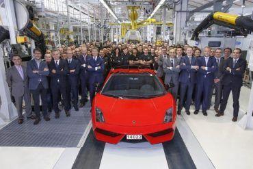 Lamborghini Gallardo Last Car with Team