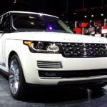 Land Rover Range Rover Autobiography Black Logo
