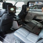 Land Rover Range Rover Autobiography Black Rear Seat