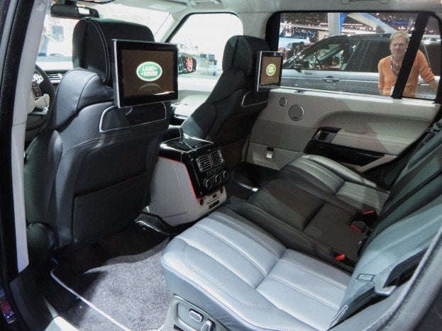 Autobiography LWB Rear Seats
