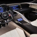 Lexus LF-LC Blue Interior