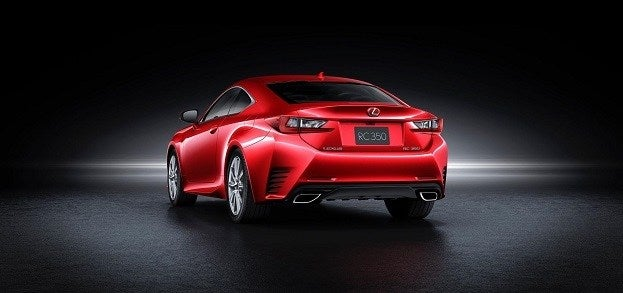 Lexus RC 350 rear