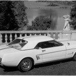 Mustang II Concept Car 1963 side rear