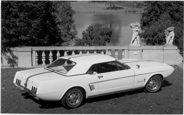 Mustang II Concept Car 1963 side rear