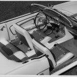 Mustang II Interior bw