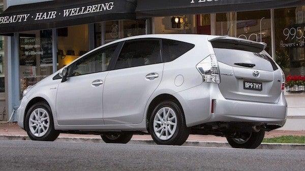 Toyota Prius v back