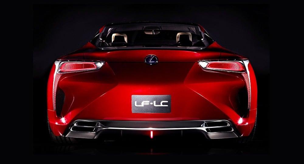 Lexus LF-LC rear