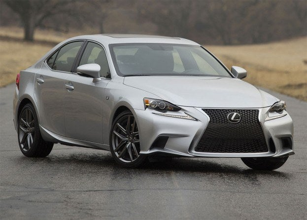 2014 Lexus IS250 front