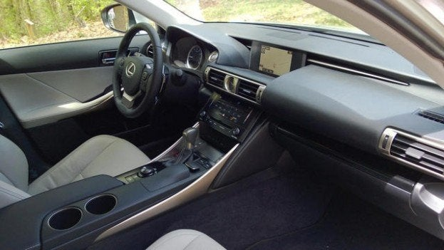 2014 Lexus IS250 interior