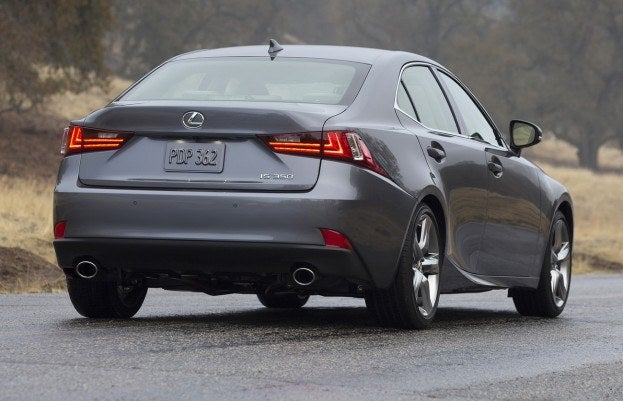 2014 Lexus IS250 rear