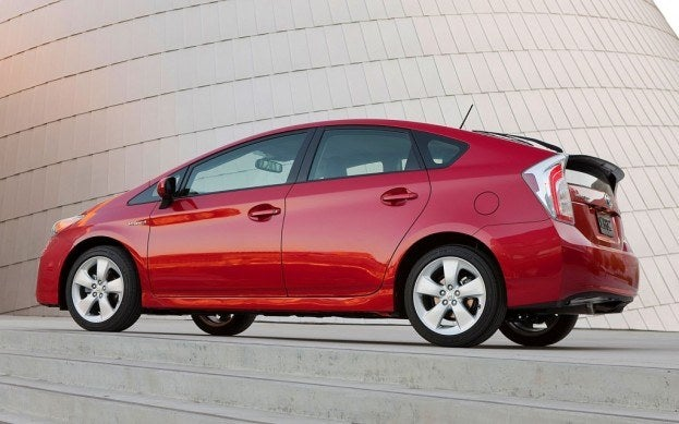 2013 Toyota Prius Five side