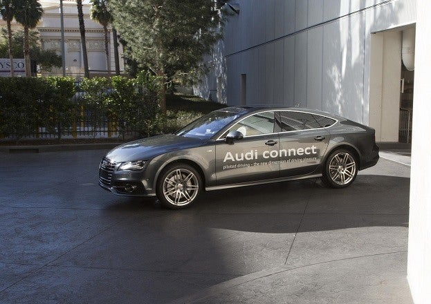 Audi A7 Piloted Parking