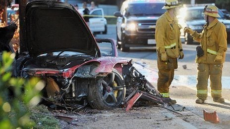 Paul Walker Porsche crash