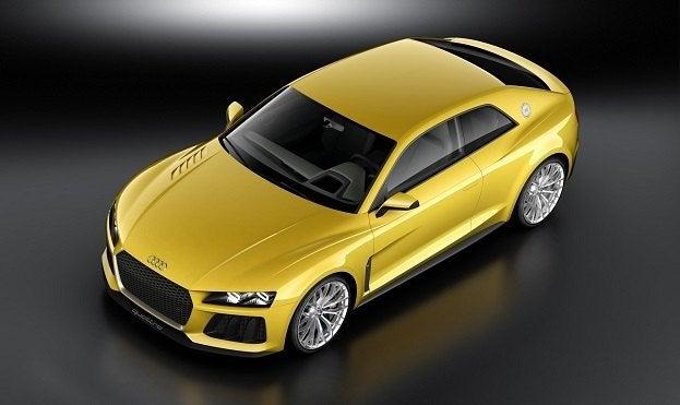 audi sport quattro concept car