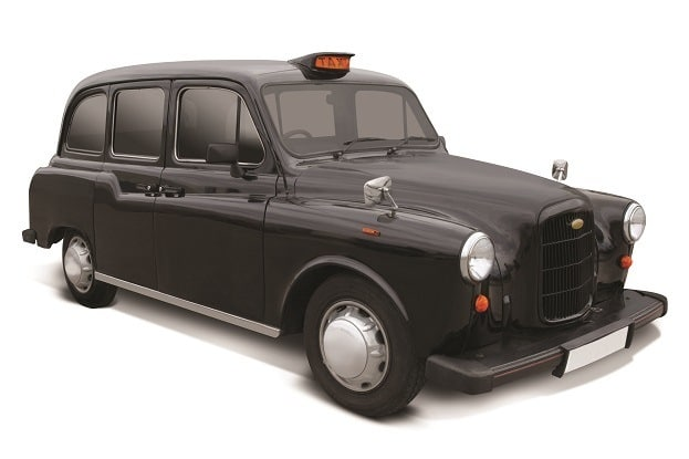 hammacher schlemmer london taxi cab