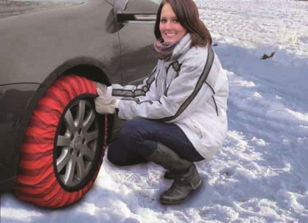 Best Tires For Snow >> Third Day of Car Gifts: ISSE Snow Socks