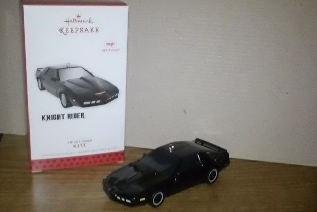 knight rider hallmark ornament