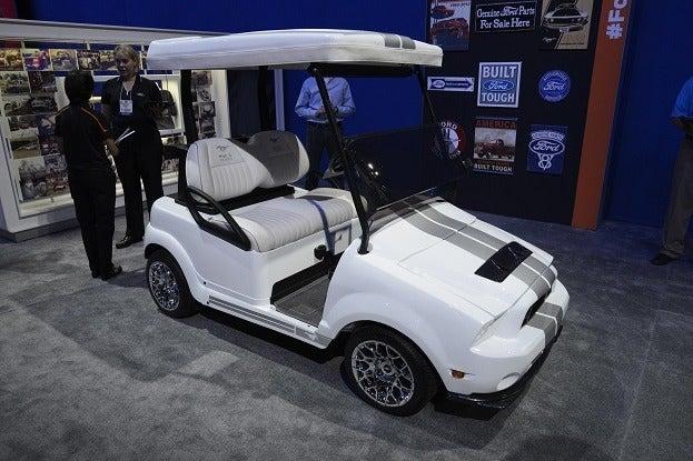 mustang golf cart _DSC4770