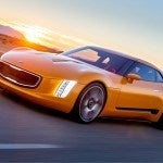 Kia GT4 Stinger Left Front Quarter