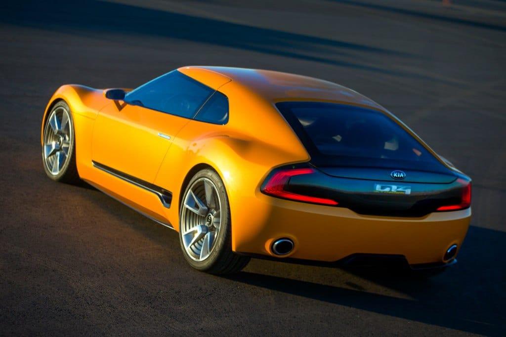 1 Kia GT4 Stinger Rear Q
