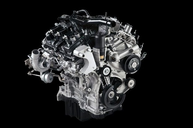 2015 Ford F-150 Ecoboost engine