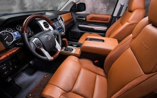 2014 Toyota Tundra 1794 Edition cabin
