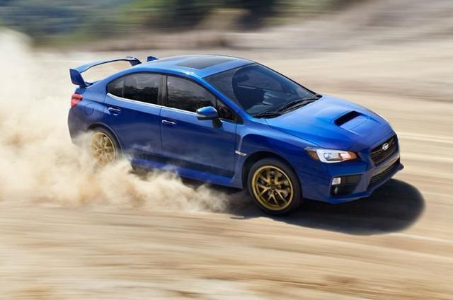 2015 Subaru WRX STI dirt road 001