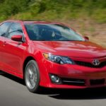Camry XLE front