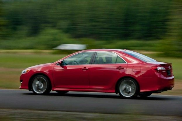 2013 Toyota Camry driving