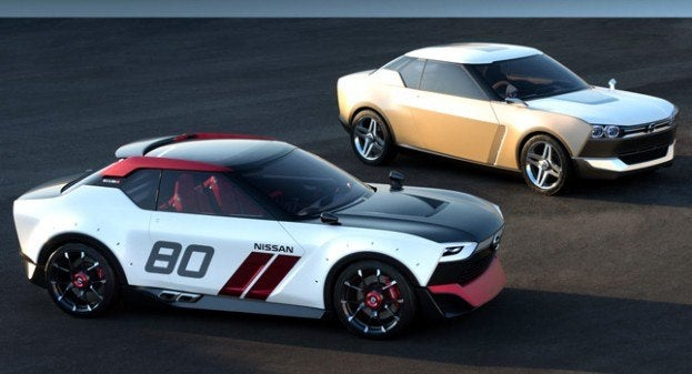 Both trims of Nissan IDx concept