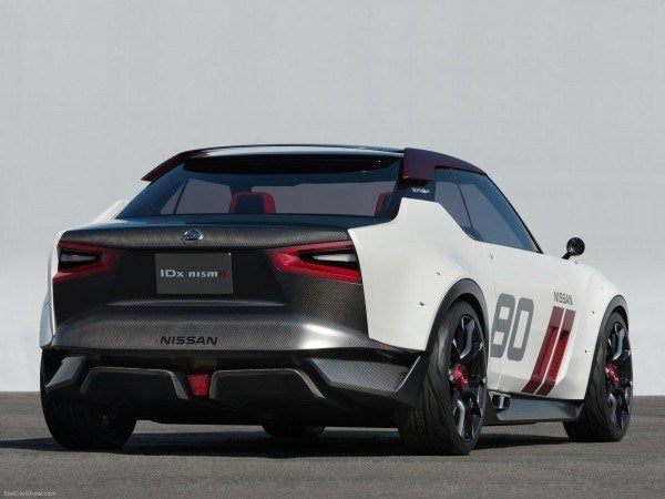 Nissan IDx Nismo concept, rear