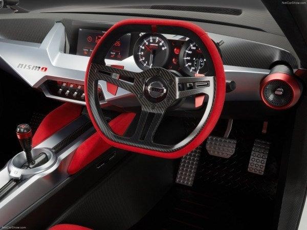 IDx Nismo concept interior
