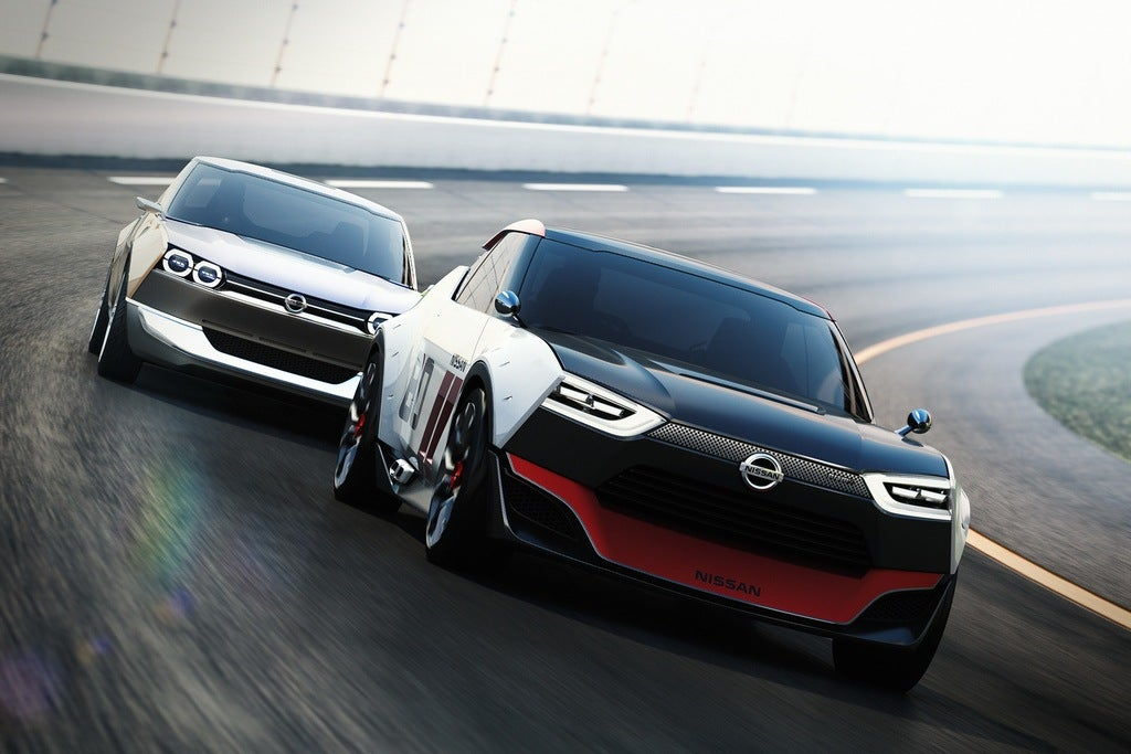nissan idx nismo chased by freeflow
