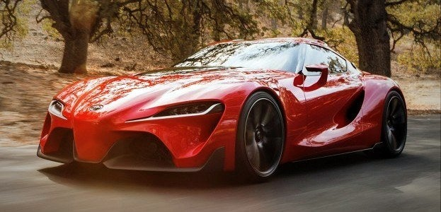 Finally, This Might be the Next Supra - the Toyota FT-1