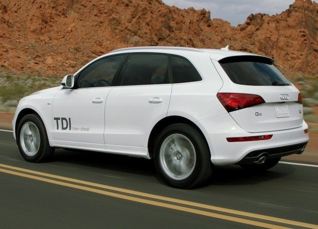 2014 Audi Q5 TDI side