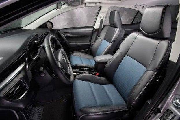 2014 Toyota Corolla S cabin